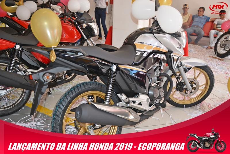 sucesso total o lan u00c7amento da linha honda 2019 na mol motos de ecoporanga